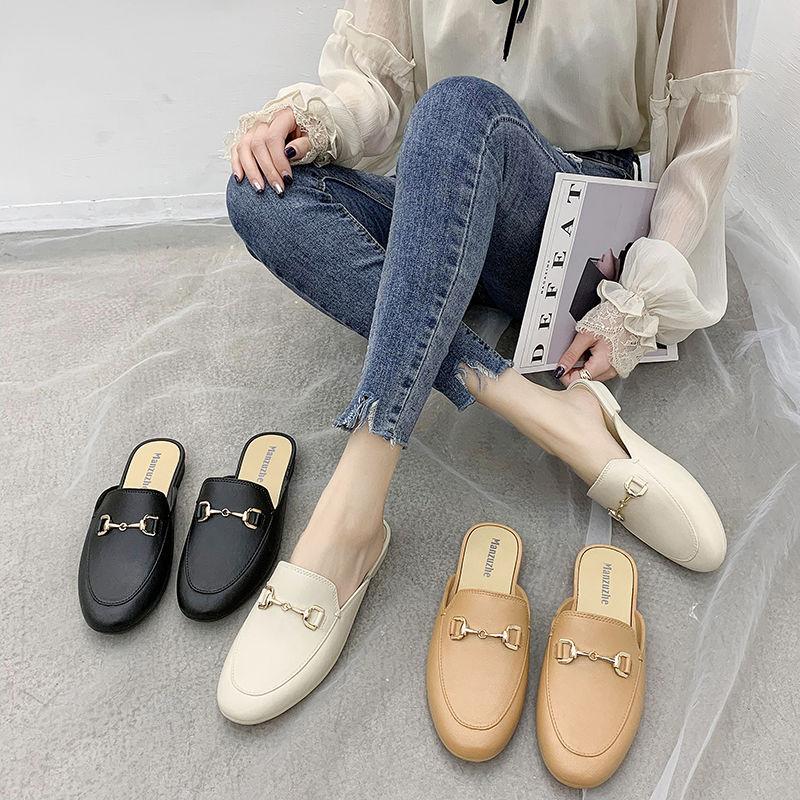 新款网红包头韩版防滑夏外穿凉拖鞋