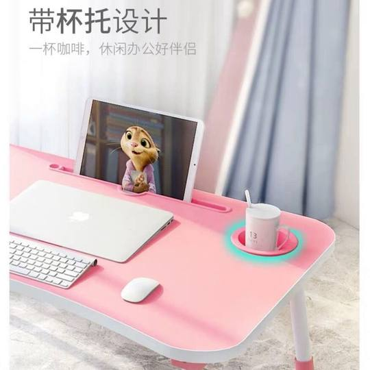 Bed Desk Foldable Computer Desk Student Dormitory Artifact Kang Table Study Table Bedroom Small Table with Bay Window