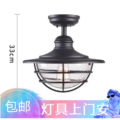 Sun room lighting led special ceiling lamp super bright glass canopy lighting courtyard lighting creative simple factory