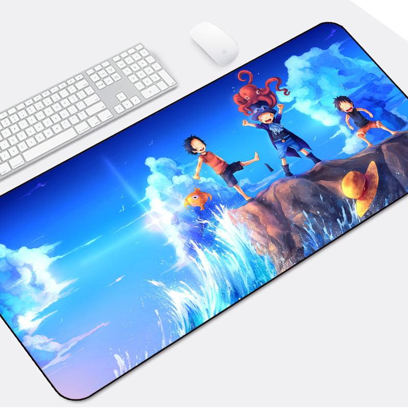 鼠标垫超大动漫卡通女生写字电脑垫可爱个性创意办公文艺桌垫定制