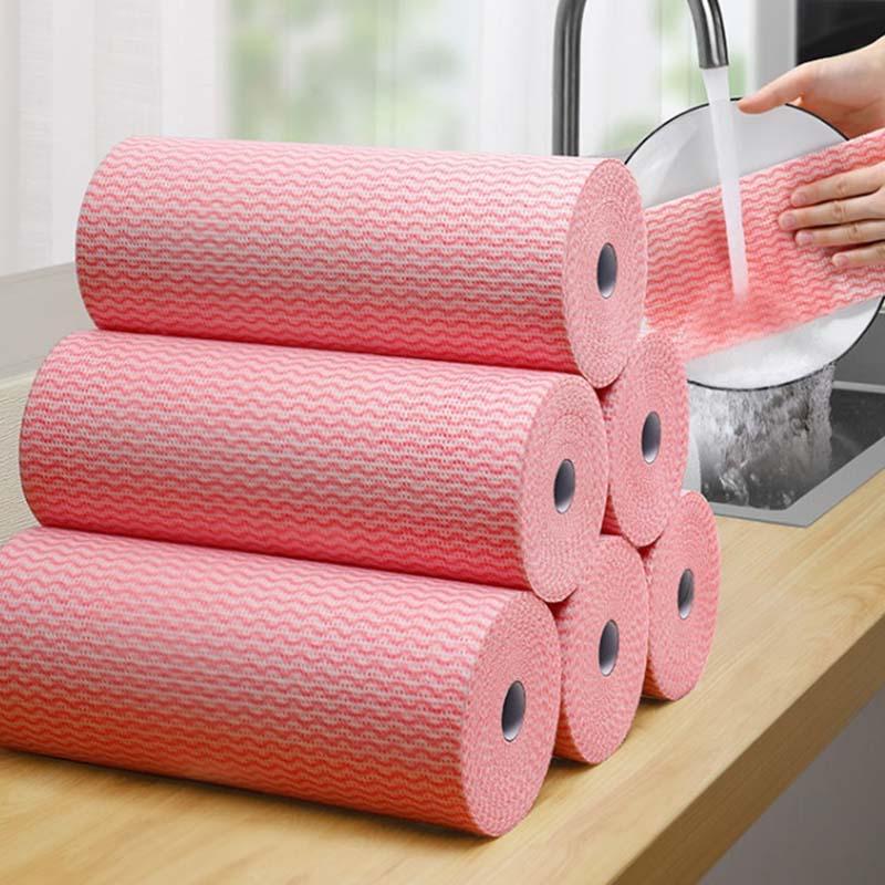洗碗布巾懒人抹布家务清洁厨房用品毛巾去油家用吸水不掉毛不沾油