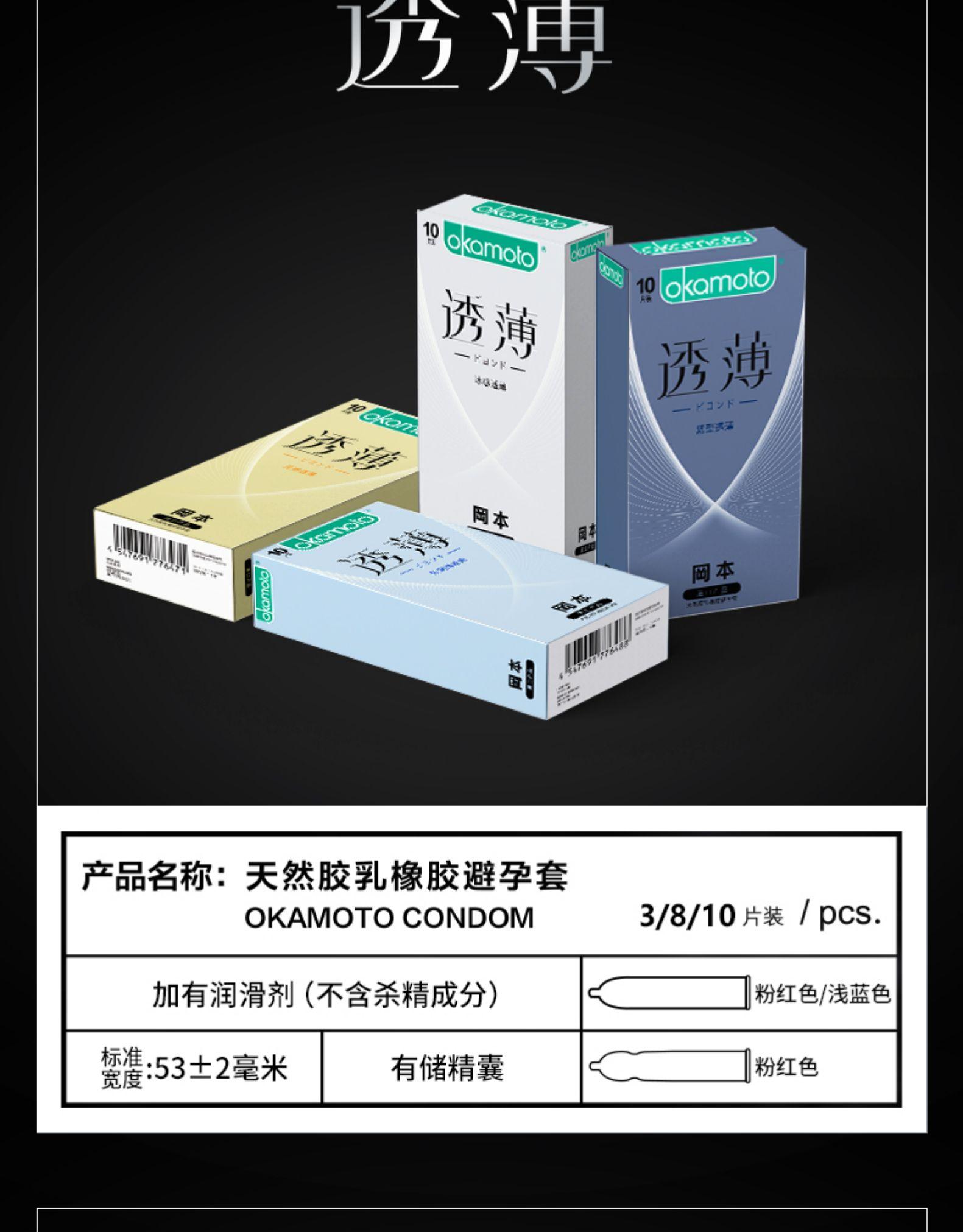 冈本 TOUCH紧型3片+SKIN激薄5片x3盒 券后19.9元包邮 买手党-买手聚集的地方