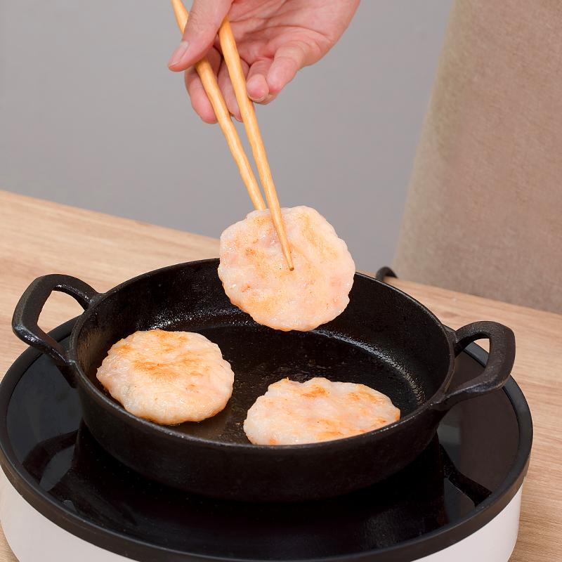 鲜之捞香虾饼160g每袋早餐速食油炸半成品虾滑速冻新鲜宝宝吃虾饼