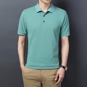男士POLO衫休闲短袖翻领T恤商务男装