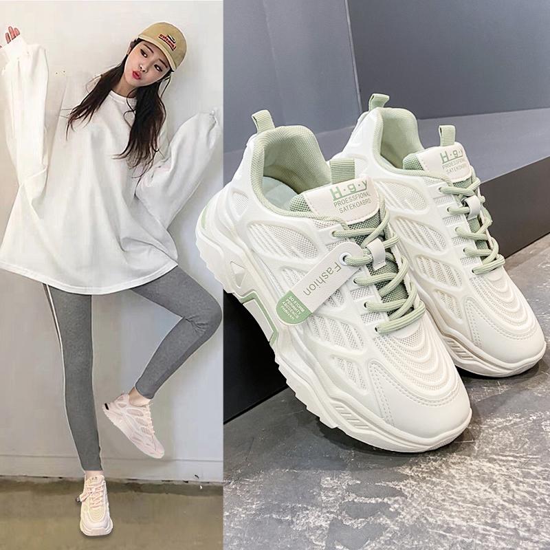 女士老爹鞋运动鞋小白鞋厚底鞋休闲鞋女鞋
