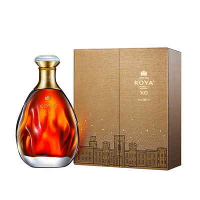 张裕可雅桶藏10年xo白兰地 礼盒装单瓶 洋酒40度洋酒蒸馏酒 700ml