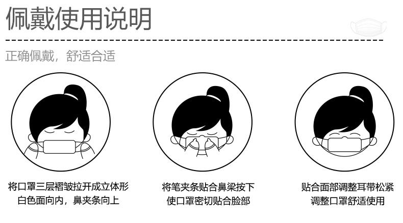 【蓝禾医疗】医用外科口罩100片装