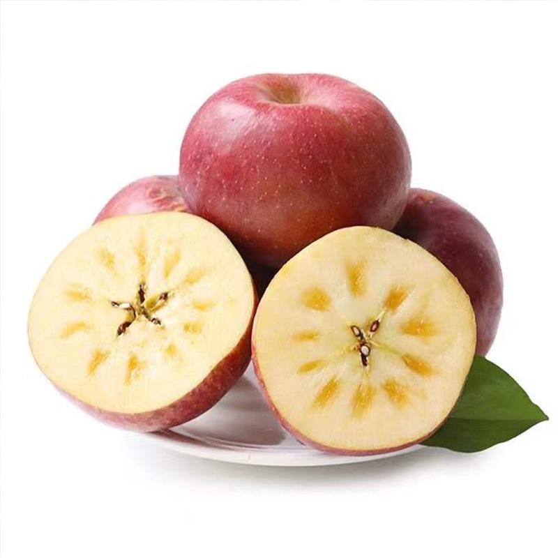 四川大凉山盐源丑苹果冰糖心野生水果新鲜当季整箱10斤装脆甜一箱