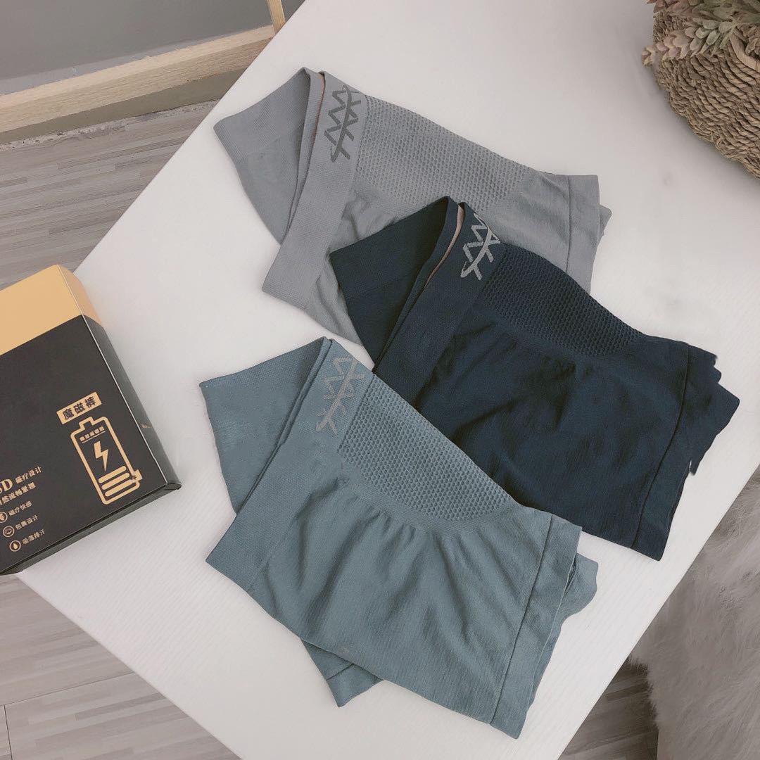 魔磁裤新款高端男士内裤大码宽松平角裤透气