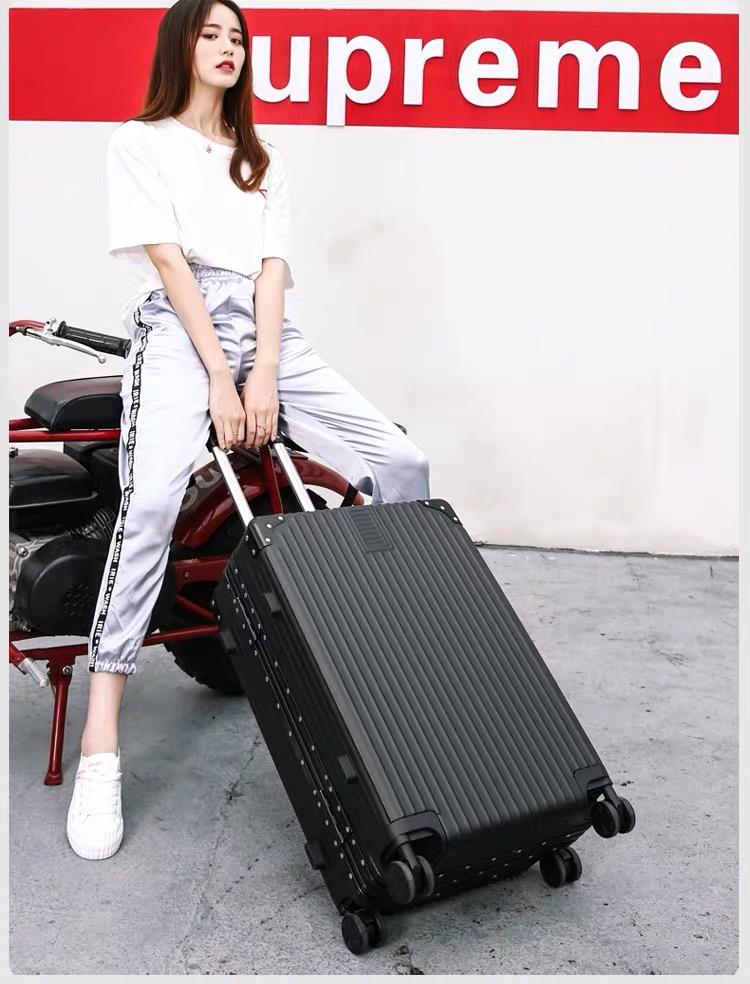行李箱女网红新款男拉桿旅行密码皮箱子寸小万向轮结实耐用详细照片