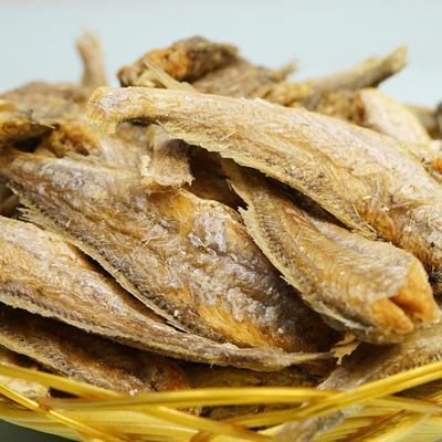 香酥小黄鱼干干货零食即食黄鱼酥脆海味小鱼仔500g袋装碳烤黄花鱼