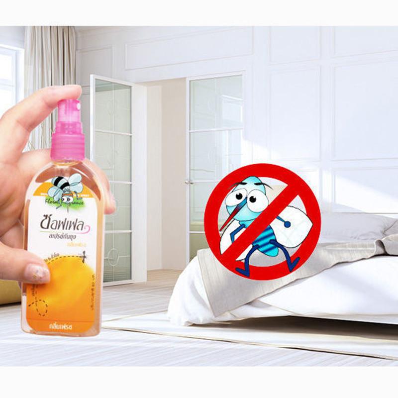 驱蚊喷雾防蚊香液花露水驱蚊止痒香水驱蚊神器驱蚊液婴儿无味无毒