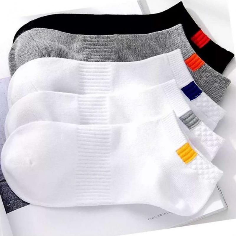 10双袜子男船袜双男士袜子中筒男袜短袜子