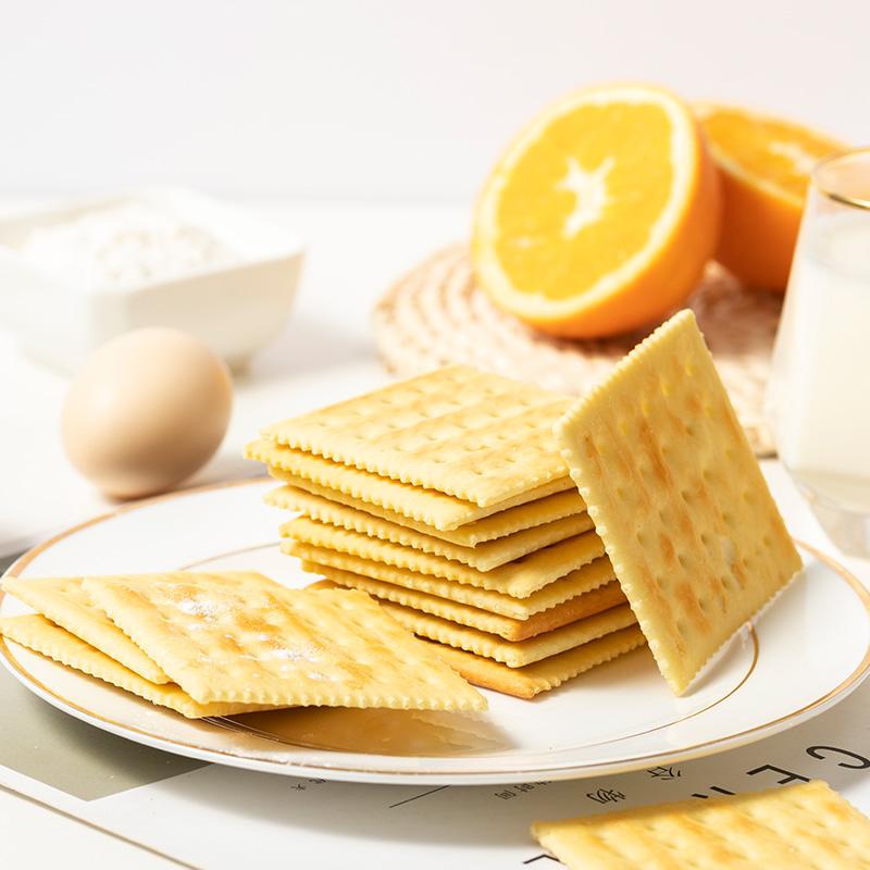 典赞熊苏打饼干梳打咸蛋味香葱盐