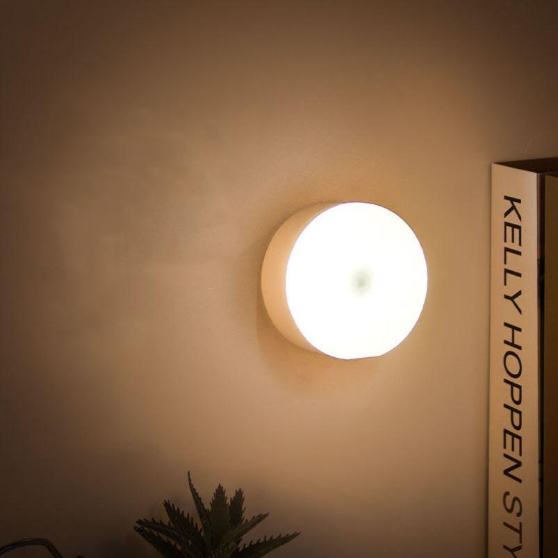家用充电LED节能小夜灯卧室床头声控无线