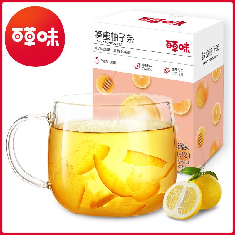 【百草味】蜂蜜柚子茶冲饮420g