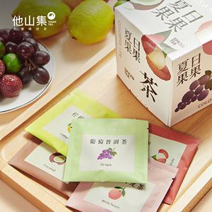 他山集夏日果果冷泡冷萃5种水果茶组合