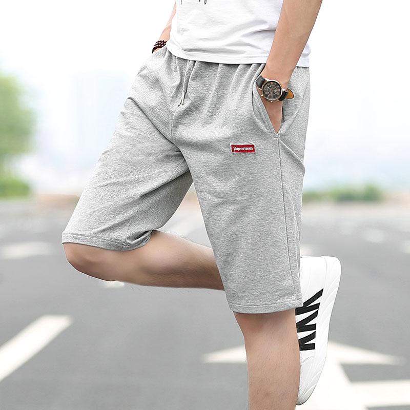 短裤男休闲中裤男士裤衩春夏季薄款男士青少年学生男孩运动五分裤
