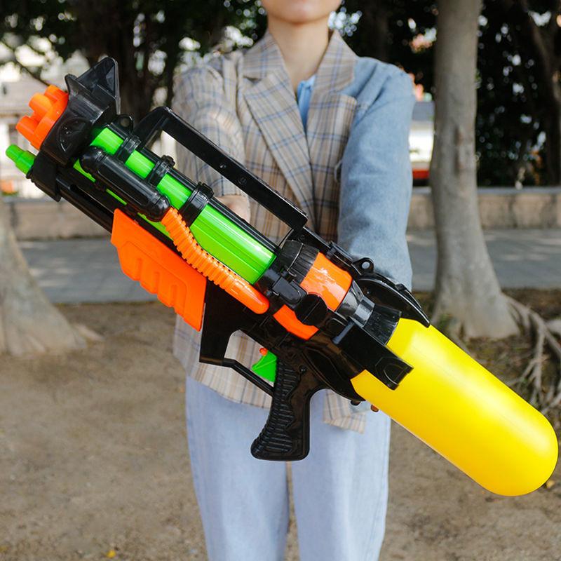 儿童水枪玩具呲水枪戏水高压水枪沙滩玩具打水仗漂流亲子喷水玩具