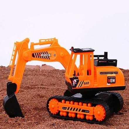 大号挖掘机宝宝挖挖机挖土机玩具钩车惯性工程车儿童玩具车模型