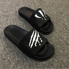 Summer men's slippers, claws, trend, indoor and outdoor, a word drag, home bathroom, non-slip, men's summer sandals and slippers