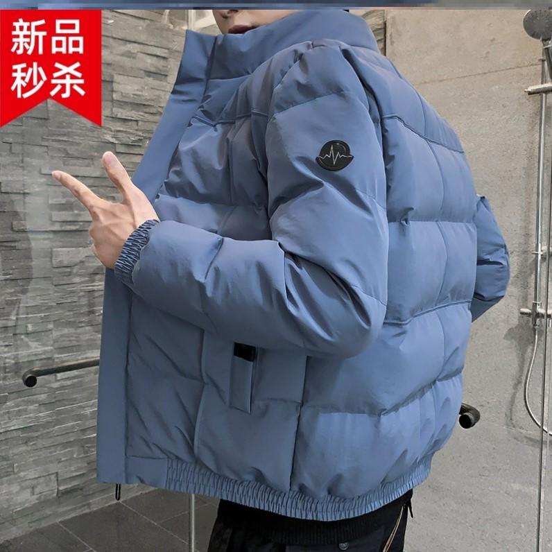 服家居流行棉外棉衣男式男生青年男秋冬短外套冬季加过冬穿加厚绒