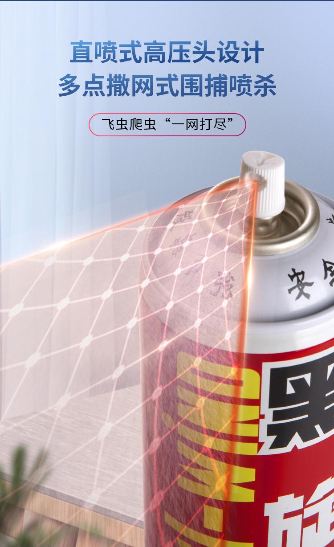 【黑旋风】600ml*2经典原味杀虫剂