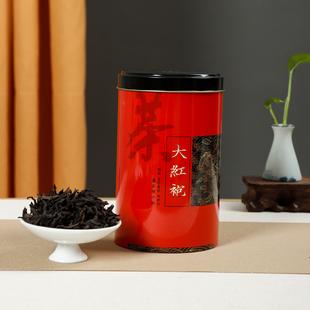 大红袍武夷山浓香型茶叶100g灌装