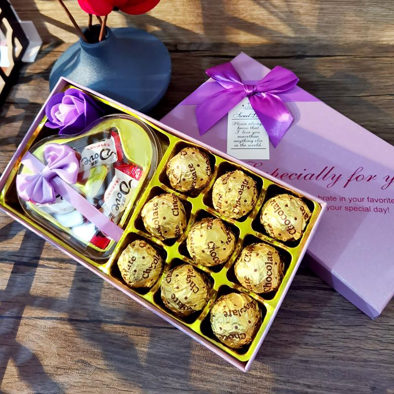 德芙巧克力礼盒装送女友女生闺蜜同学老师教师节礼物七夕情人节