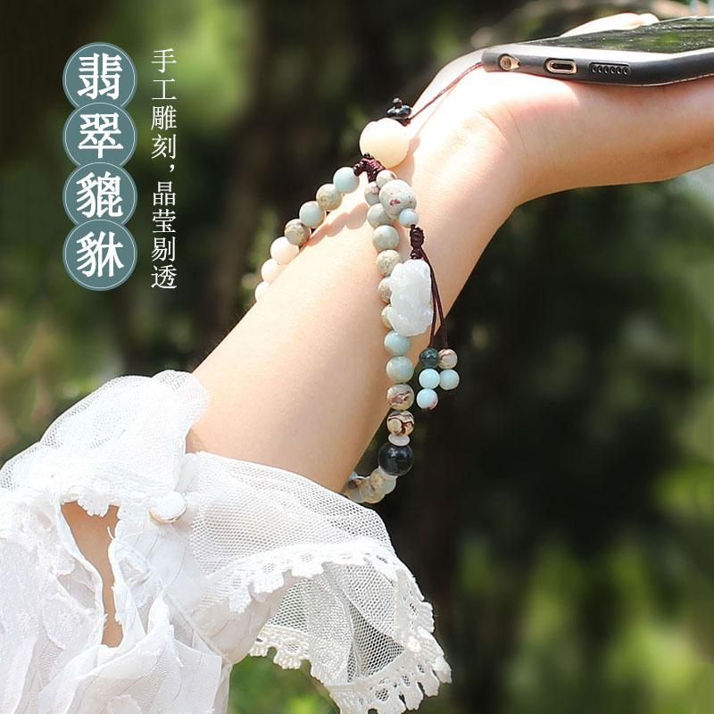 【防丢】菩提莲花吊坠手机链
