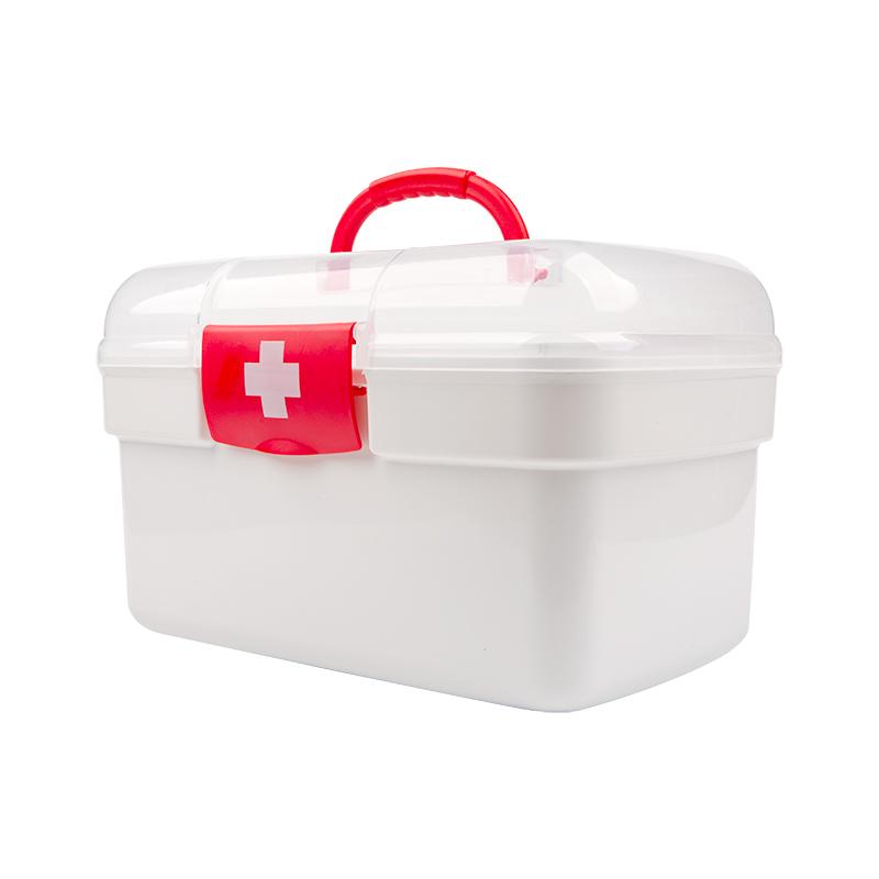 家庭便携应急医院箱大容量药品塑料收纳箱