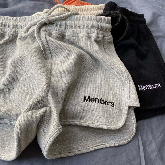 夏季韩版2021新款高腰显瘦外穿热裤