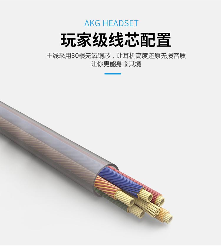 中國代購|中國批發-ibuy99|三星AKG耳机原装S7入耳式线控S8/S9/note8/9手机降噪通用正品耳机