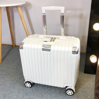 Korean version of the small row of bag trolley box female cute small fresh 18 inch boarding mini suitcase male password luggage
