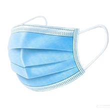 【100片】次性防护口罩三层过滤透气3层