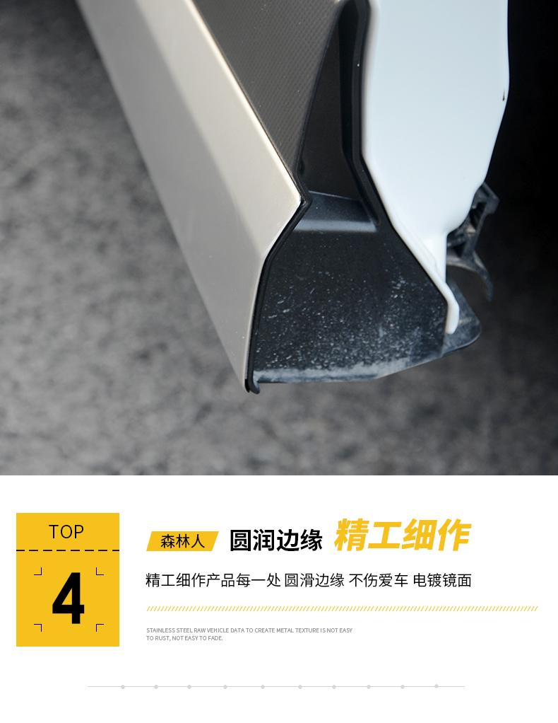 Ốp cản trước sau và nẹp sườn Subaru Forester 2019- 2020 - ảnh 24