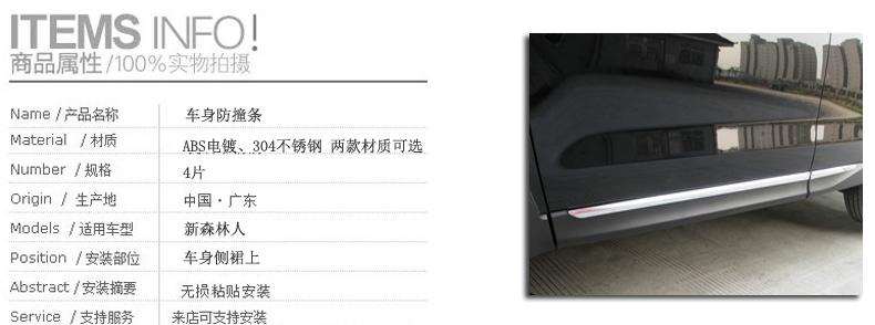 Ốp viền nẹp hông xe  Subaru Forester 2013- 2018 - ảnh 8
