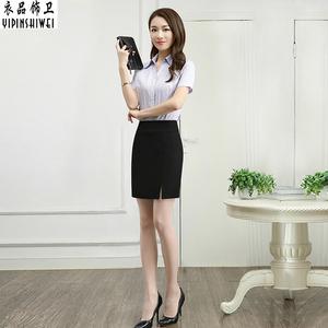 OL职业裙半身裙包臀短裙包裙一步裙工装裙女正装裙西裙工作裙春季