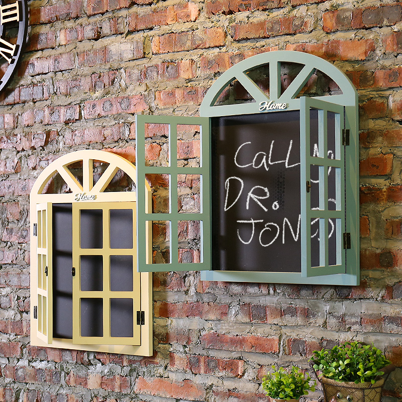 Creative Fake Window Message Board Wall Decoration Hanging Pieces Of Tea Shielding Meter Box