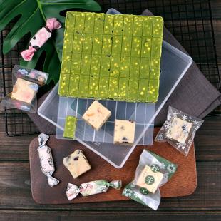 雪花酥模具全套不粘牛轧糖diy材料自制牛扎糖工具套装冷却定型盘