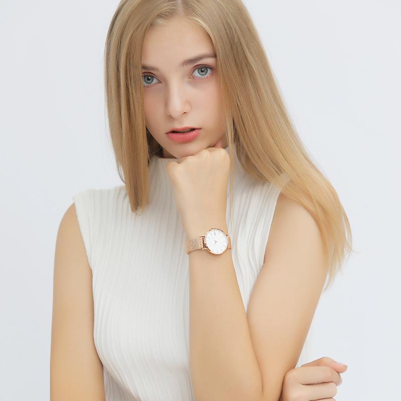 送手镯迪士尼手表法国小众女士手表