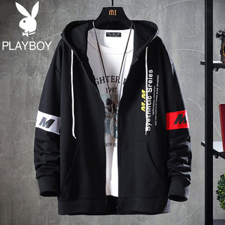 Playboy spring 2021 hoodie men hooded men spring loose-fitting jacket hoodie top