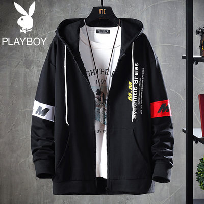 Flower Gongzi 2021 Spring and Autumn New Sweater Men's Hood Men Spring Loose Wild Jacket Hood Slirt