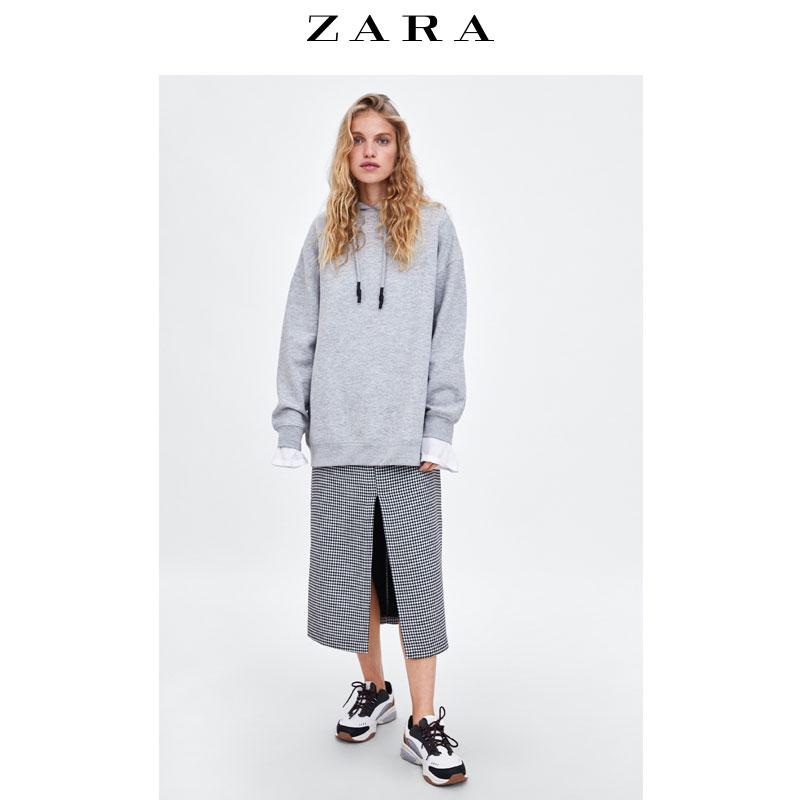 Sweatshirt femme ZARA en Coton - Ref 3214004 Image 2