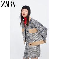 ZARA новая коллекция ТРФ Женский Китай новый год стиль сращивание жакет куртка 04661901050
