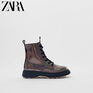 Сапоги,  ZARA новый обувь девочки переливчатый ботинки  12129630040, цена 4372 руб