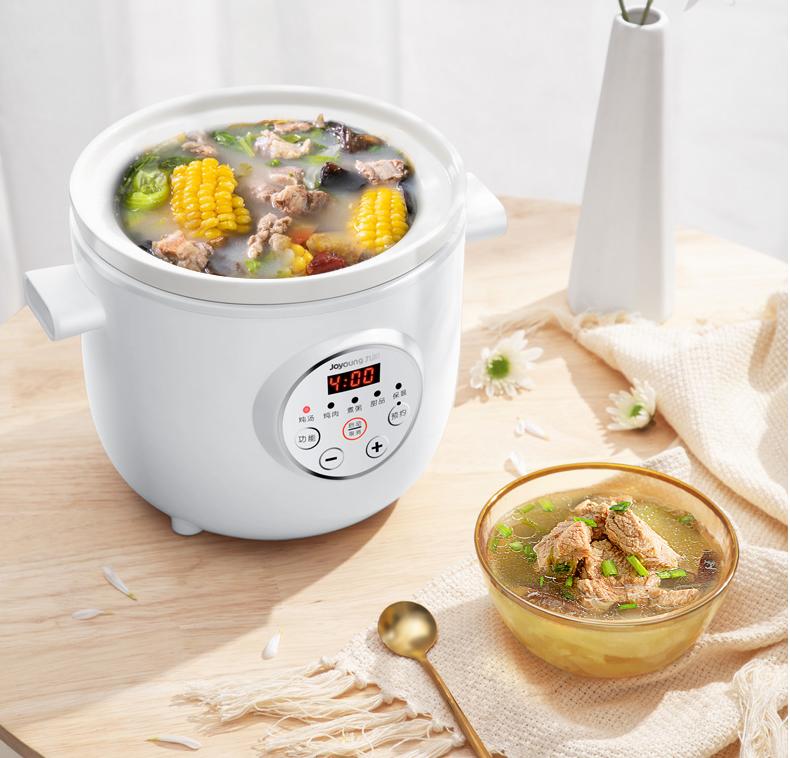 健康电炖锅,炖汤方便又营养