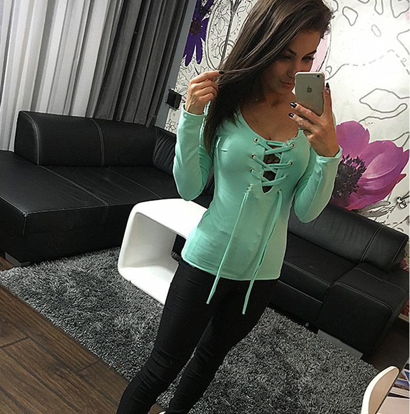 Футболка Мода женщин 2018autumn пояса пальто тонкий T-рубашка моды T-рубашка оптовая