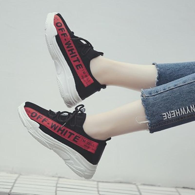 老爹鞋夏韩版ulzzang原宿百搭2018新款透气网鞋小白运动帆布鞋女[优惠后20元包邮]
