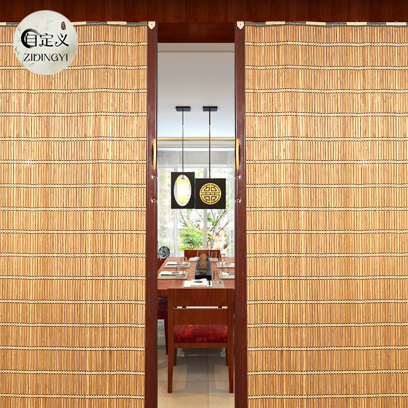 Superbe Bamboo Curtain Partition Sliding Door Curtain Shading Kitchen Roller  Shutter Bamboo Curtain Balcony Shade Living Room